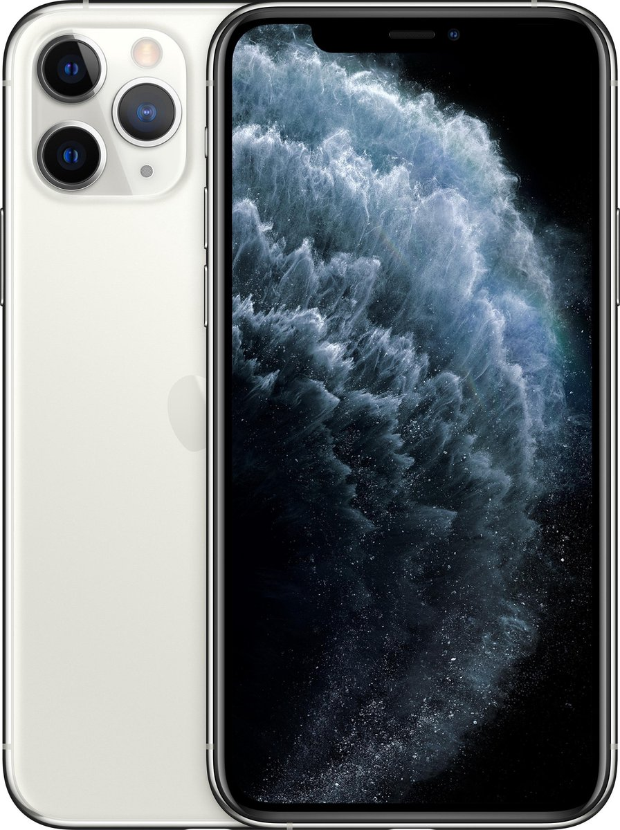 Forza Refurbished Apple iPhone 11 Pro 64GB Silver - Zo goed als nieuw