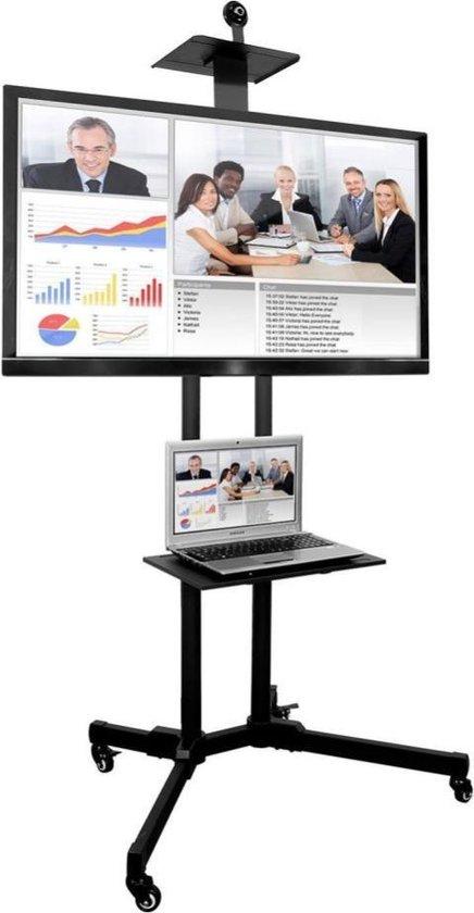 Presentatie mobiele standaard - Standaard - TV standaard - Presentatie Standaard - XL mobiele standaard - TV beugel - Presentatie accessoires - NEW MODEL - LIMITED EDITION