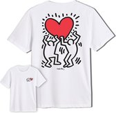 Keith Haring Heart Lift T-Shirt Wit