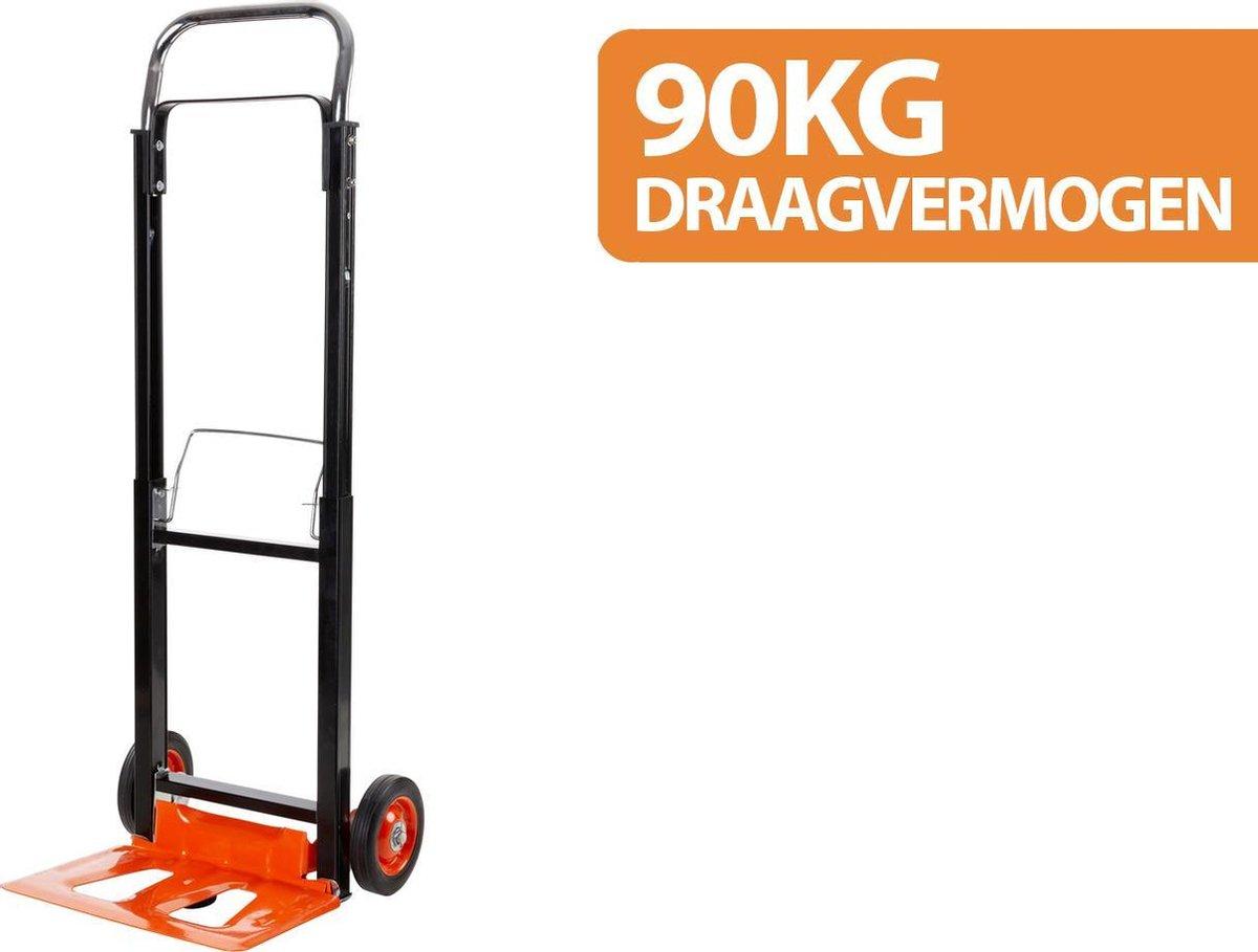 BLACK+DECKER Steekwagen BXWT-H305 - Opvouwbaar - Laadvermogen 90 Kilo - Staal