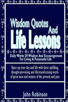 Wisdom Quotes And Life Lessons