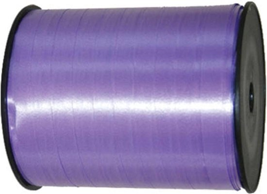 Lavendel paars lint - 500 meter - 5 mm
