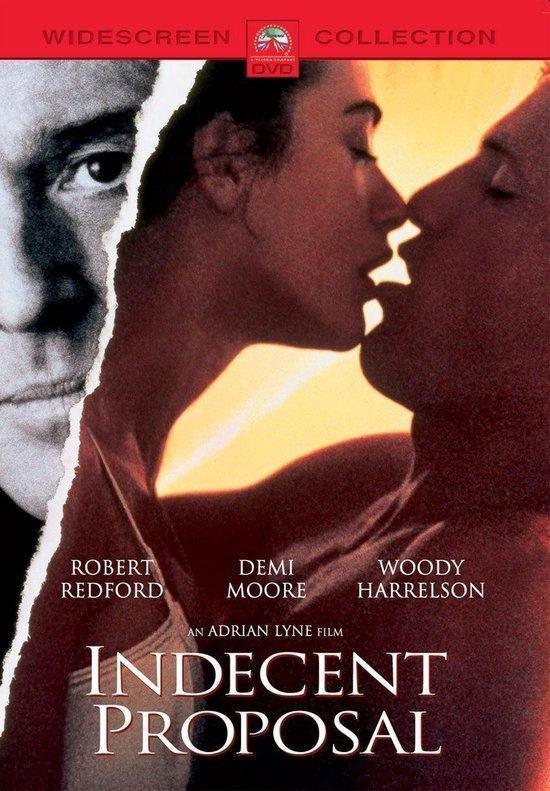 Cover van de film 'Indecent Proposal'