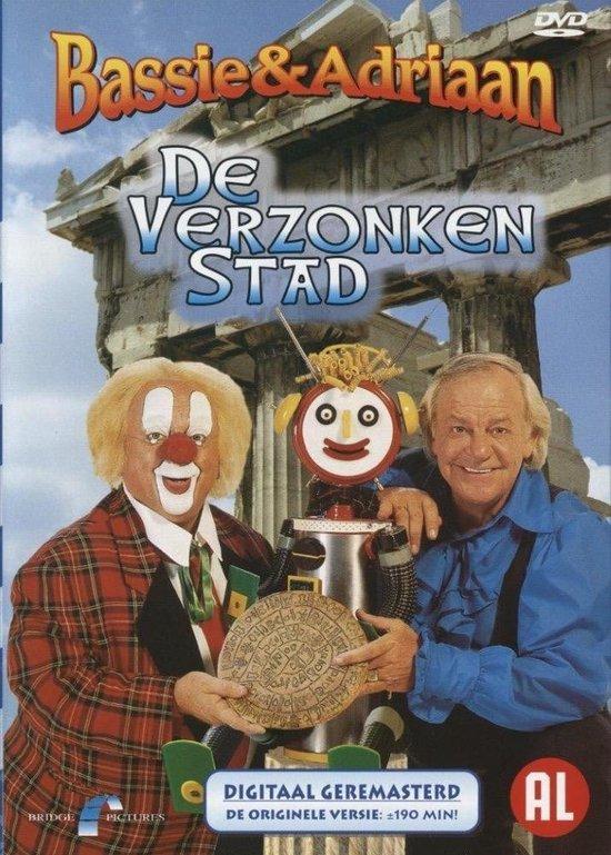 Cover van de film 'Bassie & Adriaan - Verzonken Stad'