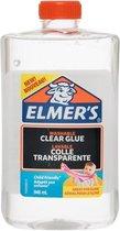 Elmer's Vloeibare knutsellijm, transparant, 946 ml, uitwasbare kinderlijm, ideaal voor het maken van slijm