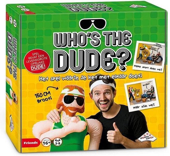 Who's the Dude? - Partyspel