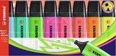 Afbeelding van STABILO BOSS ORIGINAL - Markeerstift - Hoogste Kwaliteit - Etui Met 8 Kleuren