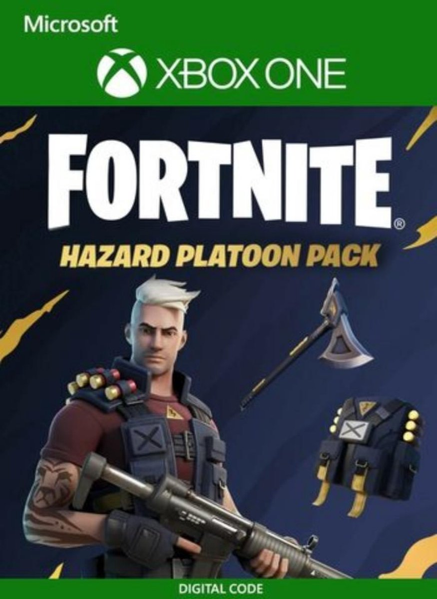 Fortnite Hazard Platoon Pack - Fortnite Bundel - Xbox One - 600 V-Bucks - Download Code