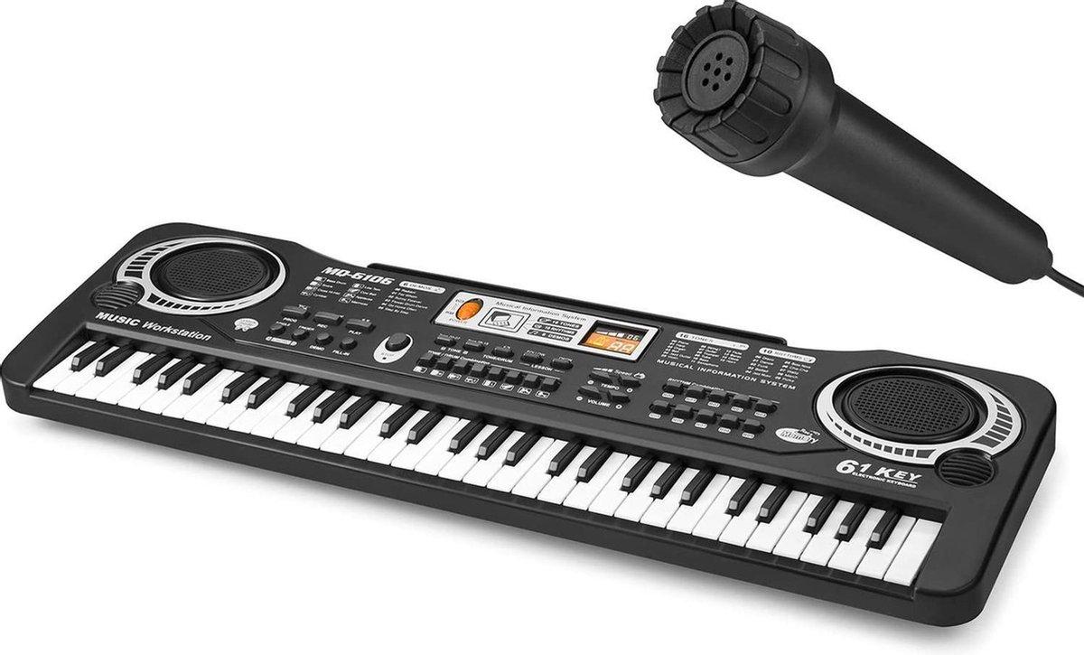 PIXMY - Piano Keyboard - 61Keys Maat S - Digitale Piano - Keyboard Piano - Elektrische Piano - Elekt