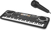 PIXMY ® - Piano Keyboard - 61Keys Maat S - Digitale Piano - Keyboard Piano - Elektrische Piano - Elektronisch Orgel - Keyboard Piano Muziekinstrument 61 Toetsen Kinderen