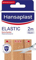 Hansaplast Pleisters – Elastic , 2mx6cm  - 1 stuks