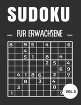 Sudoku für Erwachsene VOL 2: Leicht, mittel und schwer. Mit Lösungen: Für Erwachsene, Ideal, um das Gehirn zu stimulieren