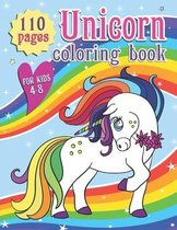 Unicorn Coloring Book for Kids 4-8: Unicorn Cute Animals Children Coloring Pages for Kids