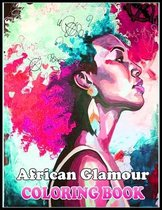 African Glamour Coloring Book
