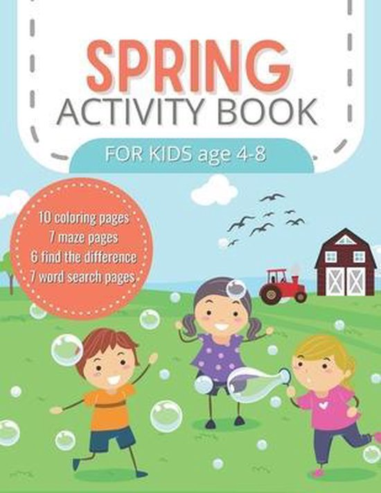 Spring Activity Book for Kids