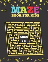 Mazes Book For Kids Ages 3-5: This Maze Book For Kids