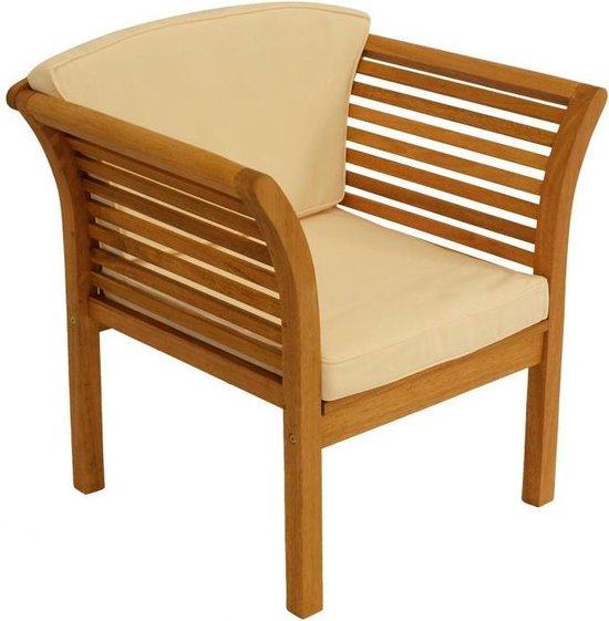 Lounge set, tuinset, eucalyptus hout,