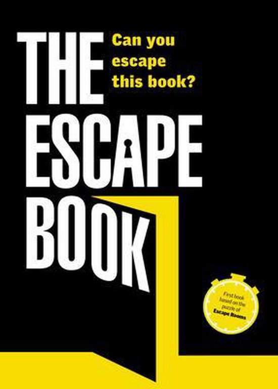 Boek cover The Escape Book: Can you escape this book? van Ivan Tapia (Paperback)