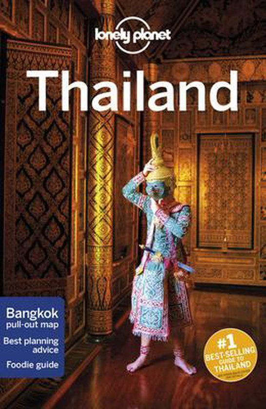 Boek cover Lonely Planet Thailand van China Williams (Paperback)