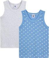 Petit Bateau Kinder Jongens Onderhemd - Maat 116