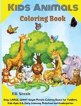 Kids Animals Coloring Book