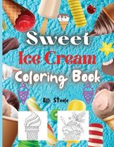 Sweet Dessert Coloring Book