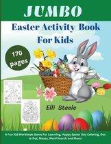 Jumbo Easter Activity Book For Kids