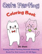 Cats Farting Coloring Book