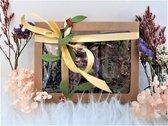 Lente thee Cadeaupakket - drie heerlijke theesoorten in een cadeaupakket - leuk voor moederdag - De Gouden Kat