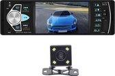 Autoradio - Alle auto's - MP5 Handsfree BLUETOOTH USB AUX  SD 4.1 inch - Afstandsbediening - 1 DIN auto radio met achteruitcamera