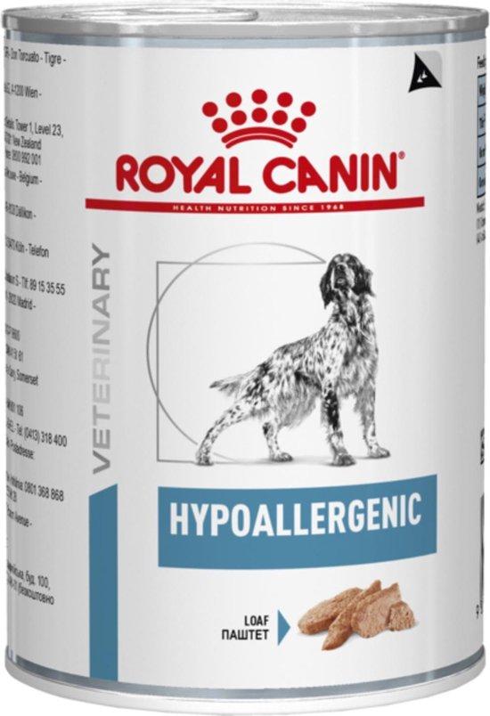 Royal Canin Hypoallergenic Hond - 12 x 400 g blikken