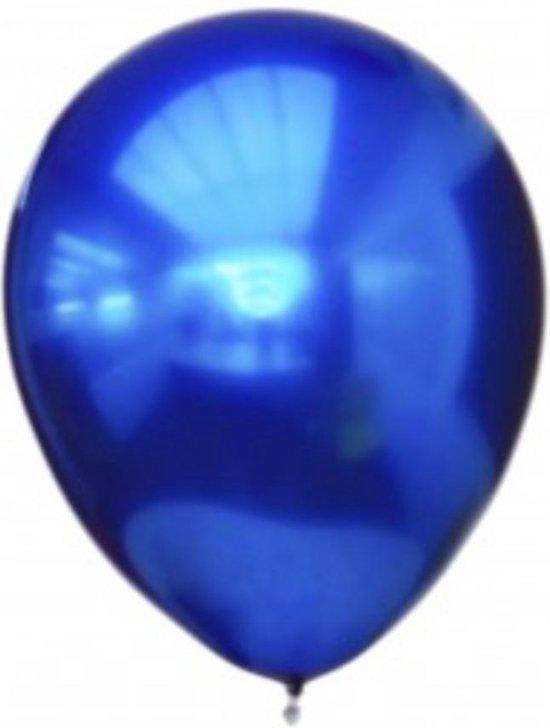 Titanium Ballonnen, 12 stuks , Blauw , Verjaardag, Themafeest, Glans Ballonnen