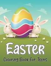 Easter Coloring Book For Teens
