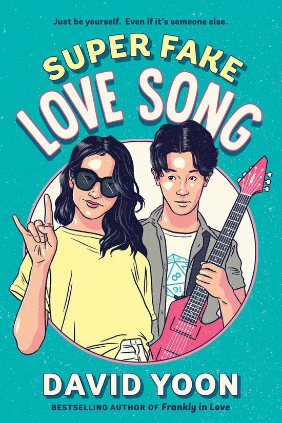 Boek cover Super Fake Love Song van David Yoon (Paperback)