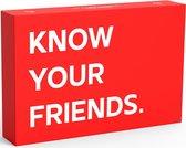 Know Your Friends - Het ultieme drankspel voor Friends | partyspel