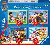 Ravensburger puzzel PAW Patrol - Legpuzzel - 4 Puzzels 12+16+20+24 stukjes