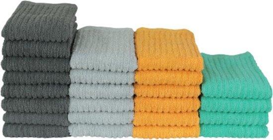 Keukentextiel Set – 24 Stuks – Vaatdoeken