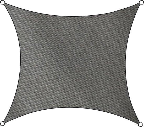 Livin' outdoor Schaduwdoek - Polyester - Vierkant - 3,6 m - Antraciet