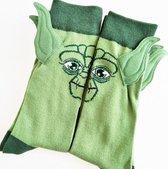 Yoda sokken - Baby Yoda sokken - Star Wars sokken - Mandolorian sokken - Baby Yoda knuffel - Baby Yoda shirt