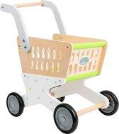 Houten winkelwagen Trend - Houten speelgoed vanaf 3 jaar