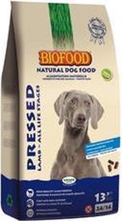 Biofood Geperst Lam & Rijst Premium - Hondenvoer - 13,5 kg