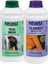 Twin Tech Wash/TXDirect 1 Litre - impregneermiddel - wasmiddel - 2pack
