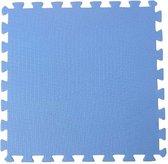 Zwembad Ondertegels - Grondzeilen - 50x50 cm Blauw 8 stuks