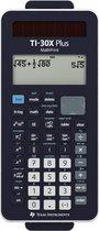 Texas Instruments TI-30X Plus MathPrint Schoolrekenmachine werkt op batterijen, werkt op zonne-energie Zwart Aantal displayposities: 16