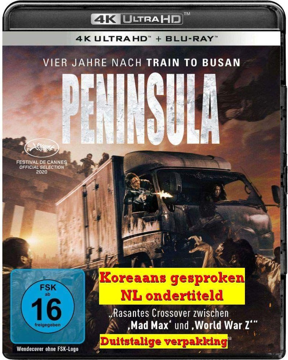 Peninsula [4K Ultra HD+ Blu-ray] (2021)-