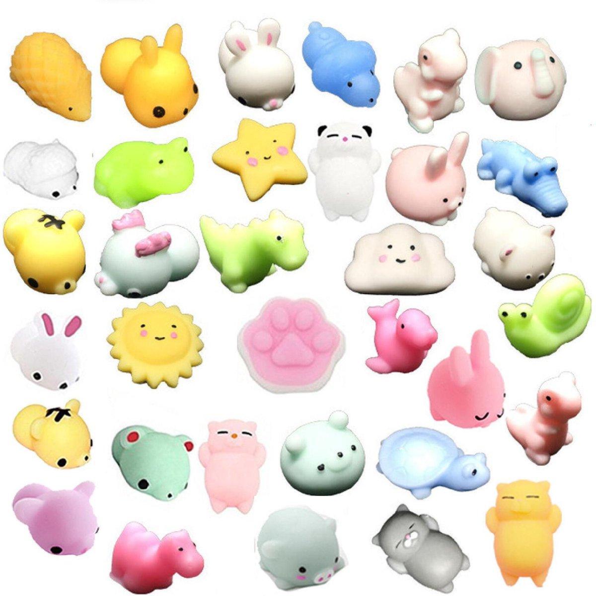 Mochi squishy  - Squishy - Mochi - 5 stuks - Fidget toys - Anti stress - Pop All Up®