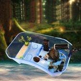 Dierplezier - Schildpad verblijf - Schildpaddenverblijf - schildpaddenbak - Terrarium schildpad - 25cm x 17 cm Smal - Opvangbak schildpad