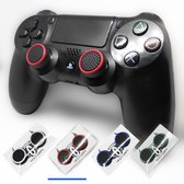 Holy grips - Joystick thumbgrips - Xbox One - Playstation PS4 PS5 - Rood Zwart