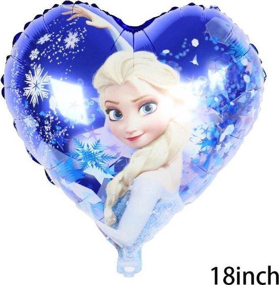 Elsa Frozen Disney,Helium Ballonnen Met Rietje ,Verjaardag Decoratie .Elsa Frozen Ballon 18 Inch & Straw