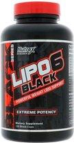 Lipo-6 Black - 120 capsules